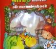 Vriendjes worden met Milo het monster 3D Verhalenboek Ellie Lormans Olen, België - 2010 Uitgeverij: Yoyo Books