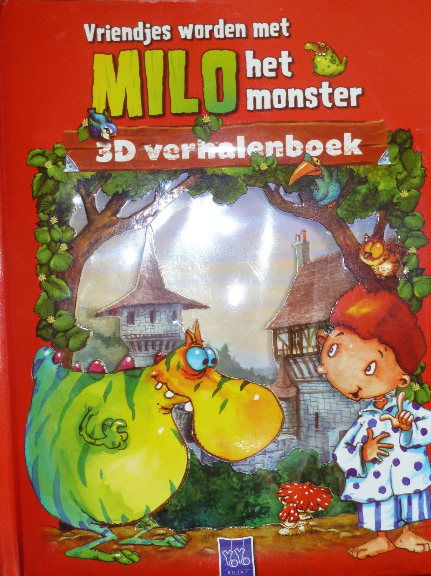 Vriendjes worden met Milo het monster